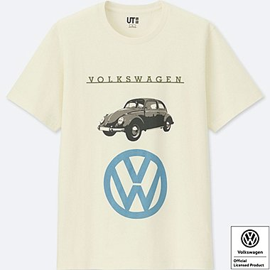 THE BRANDS SHORT-SLEEVE GRAPHIC T-SHIRT (VOLKSWAGEN), OFF WHITE, medium