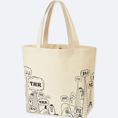 SPRZ NY BARRY MCGEE TOTE BAG, OFF WHITE, medium