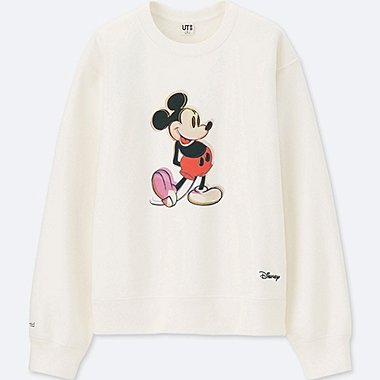 Damen UT Sweatpullover Mickey Art