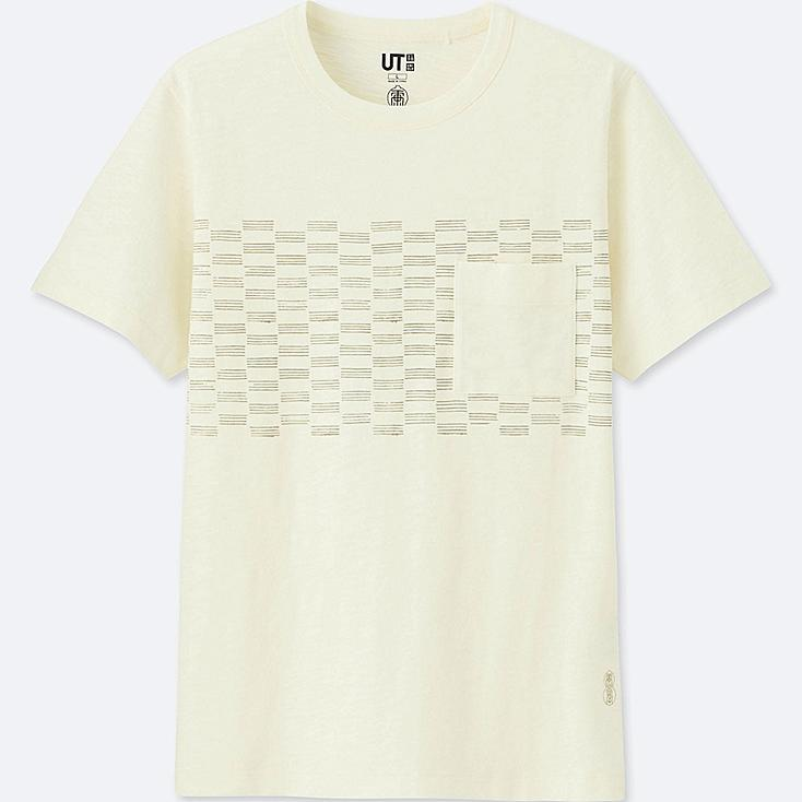 KARAKAMI KARACHO SHORT-SLEEVE GRAPHIC T-SHIRT, OFF WHITE, large
