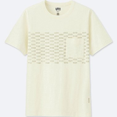 KARAKAMI KARACHO SHORT-SLEEVE GRAPHIC T-SHIRT, OFF WHITE, medium