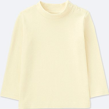BABIES TODDLER Rib High Neck Long Sleeve