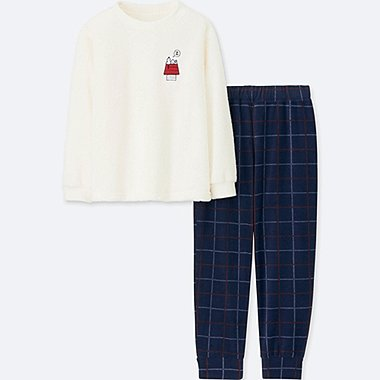 KIDS PEANUTS FLEECE LOUNGE SET
