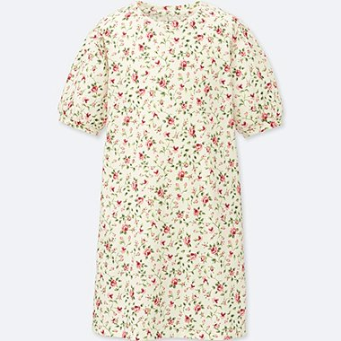 GIRLS STUDIO SANDERSON FOR UNIQLO HALF SLEEVE DRESS