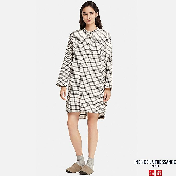 WOMEN INES FLANNEL LONG SLEEVE PYJAMAS
