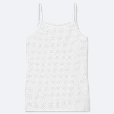 GIRLS AIRISM DOTTED CAMISOLE TOP