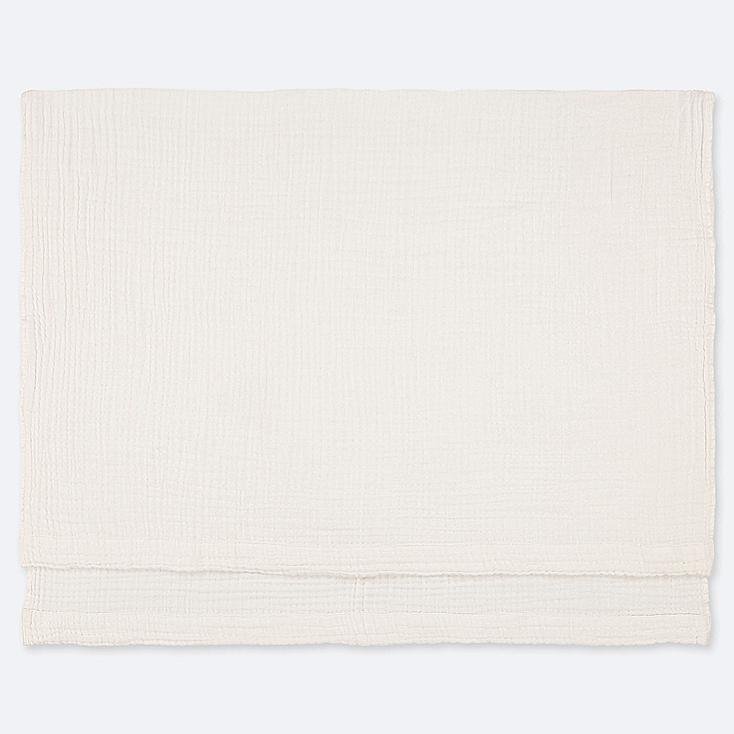 COTTON GAUZEKET, OFF WHITE, large