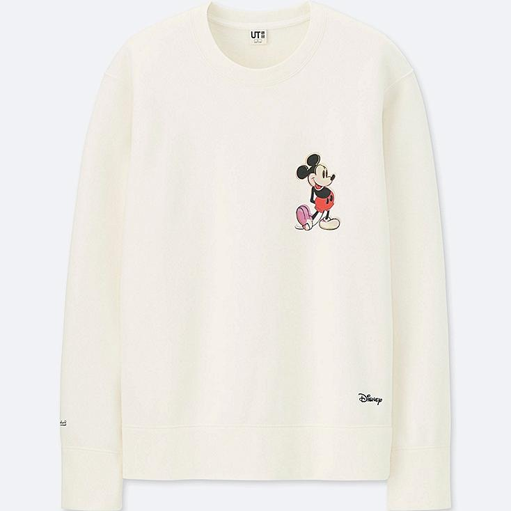 MICKEY ART SWEATSHIRT (ANDY WARHOL), OFF WHITE, large