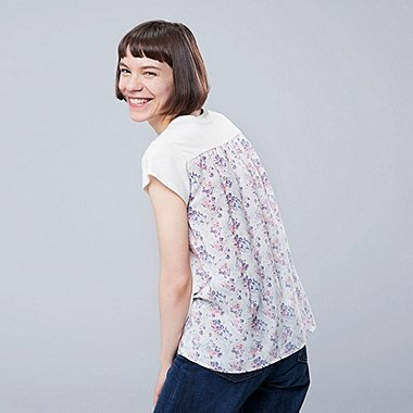 WOMEN STUDIO SANDERSON GRAPHIC PRINT T-SHIRT