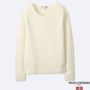 WOMEN INES TAPE YARN CREW NECK JUMPER