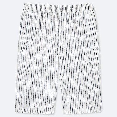 MEN LIGHT COTTON EASY SHORTS (ONLINE EXCLUSIVE), OFF WHITE, medium