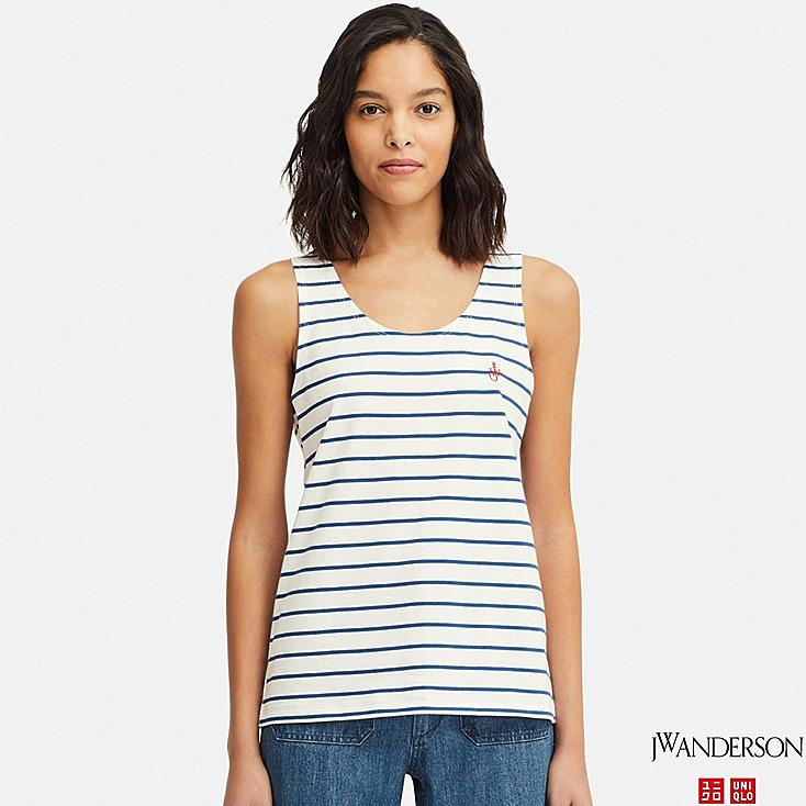 WOMEN TANK TOP (JW Anderson), OFF WHITE, large