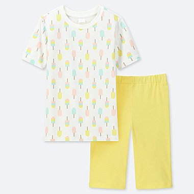 GIRLS DRY STRETCH SET, OFF WHITE, medium