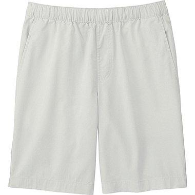 Mens Twill Shorts, LIGHT GRAY, medium
