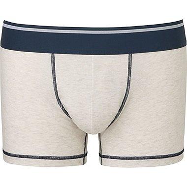 Mens Supima® Cotton Low Rise Boxer Briefs, LIGHT GRAY, medium