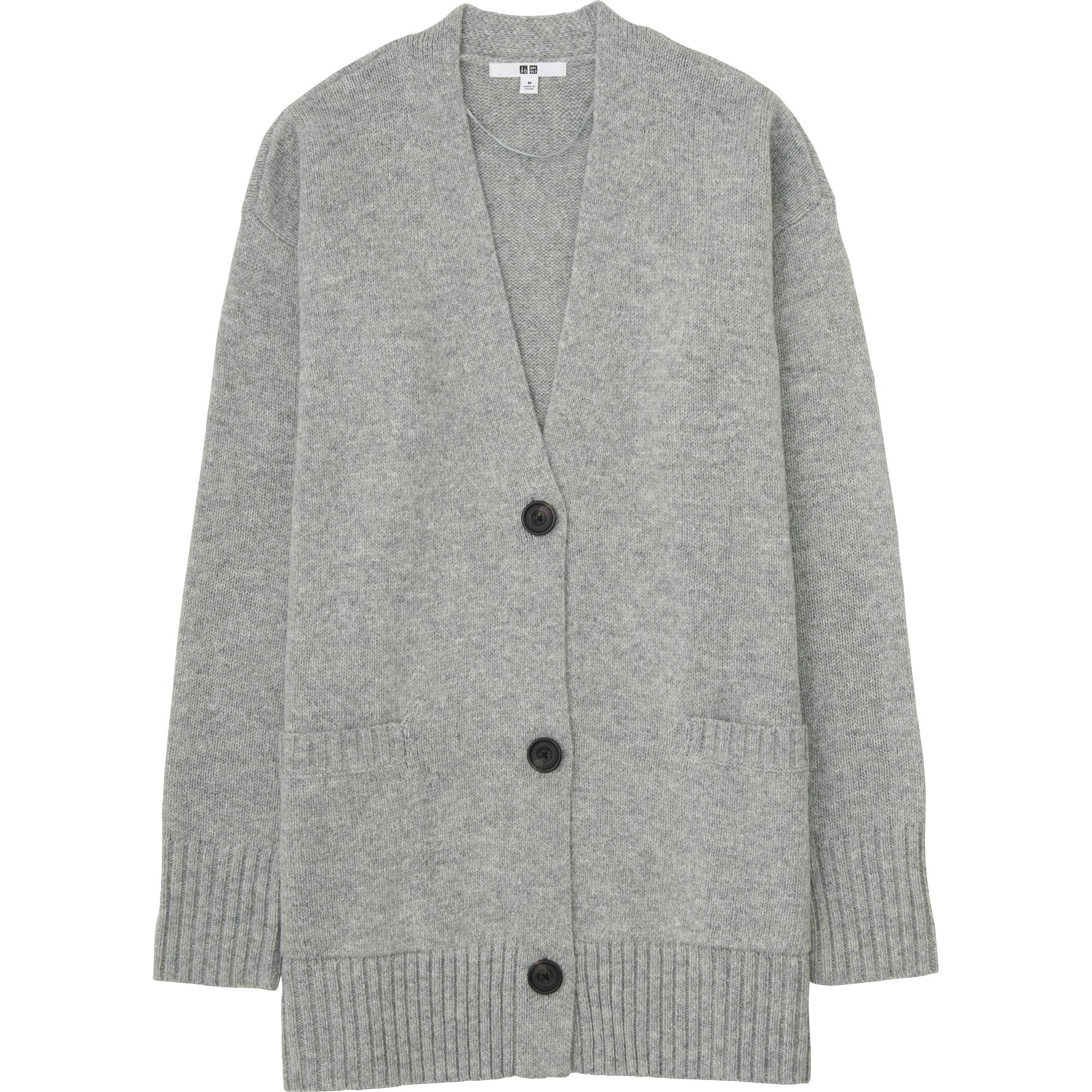 WOMEN HEAVY GAUGE OVERSIZED CARDIGAN | UNIQLO US