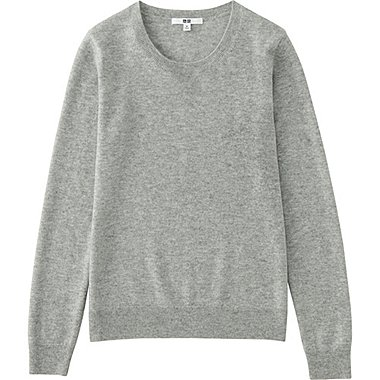 WOMEN Cashmere Crew Neck Sweater