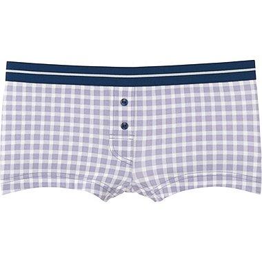 WOMEN Boy Shorts (Check)