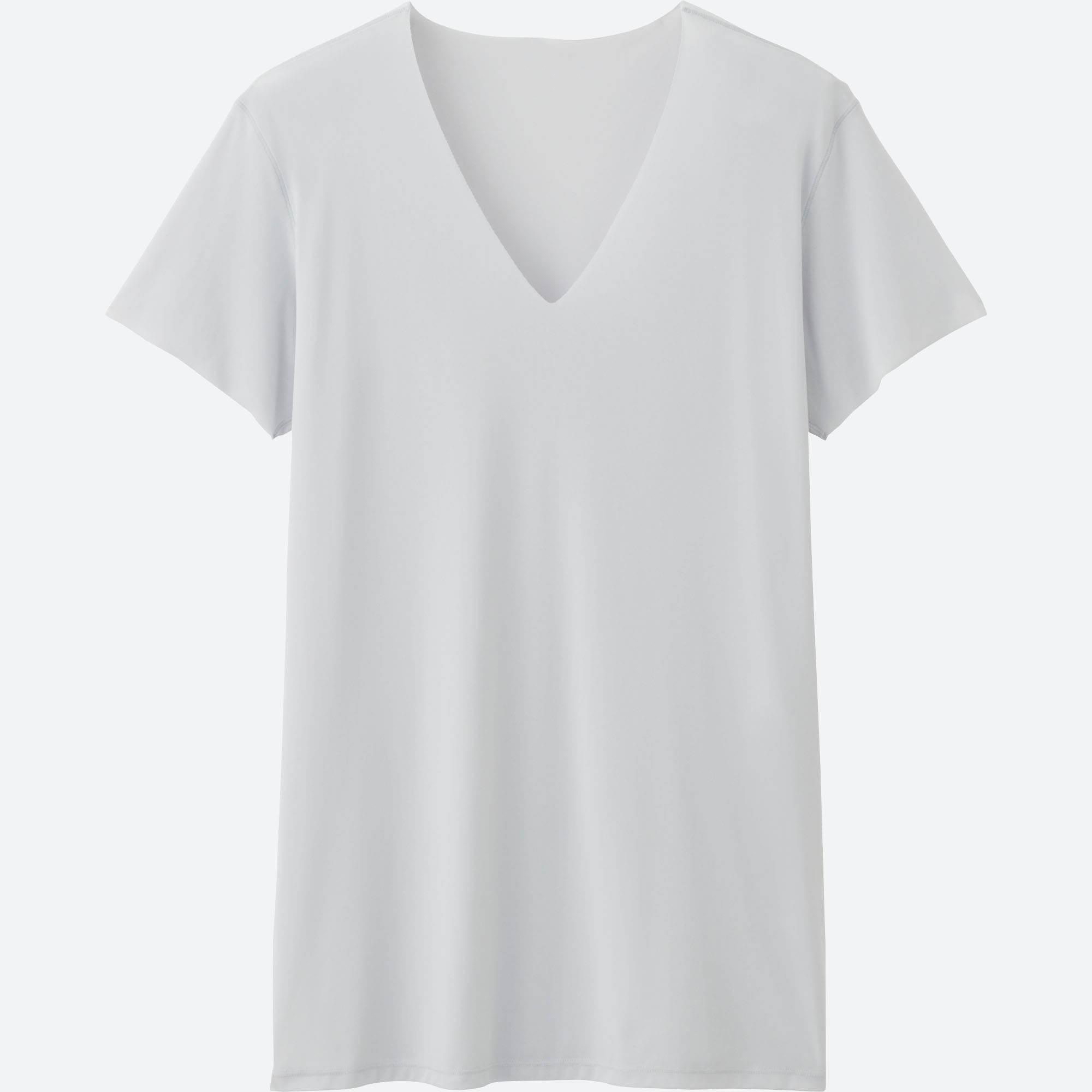 MEN AIRism SEAMLESS V-NECK T-SHIRT SHORT-SLEEVE | UNIQLO US