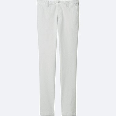 MEN ULTRA STRETCH CHINO FLAT FRONT PANTS, LIGHT GRAY, medium