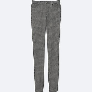 WOMEN LEGGINGS PANTS, LIGHT GRAY, medium