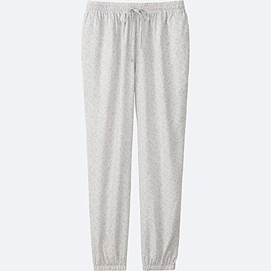 WOMEN DRAPE PANTS, LIGHT GRAY, medium