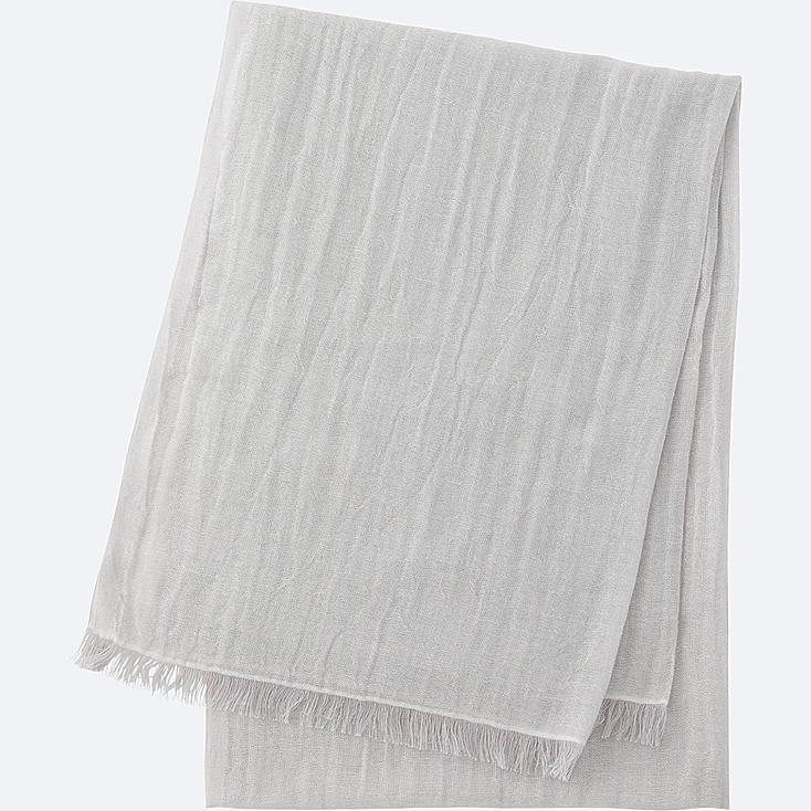 Cotton linen stole uniqlo us - Linnen stoel ...