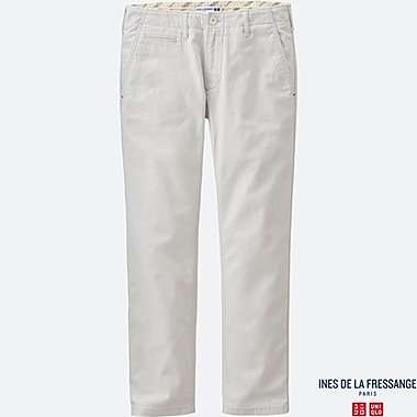 WOMEN INES Slab Chino Trousers