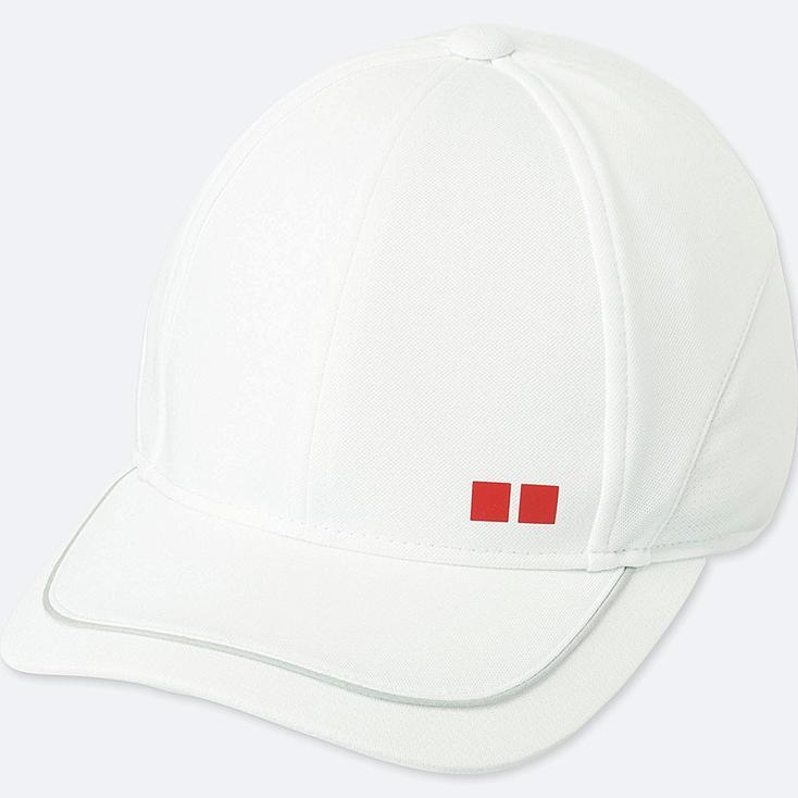 MEN TENNIS CAP, LIGHT GRAY, large