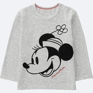 TODDLER Disney Collection Long Sleeve Crew Neck T