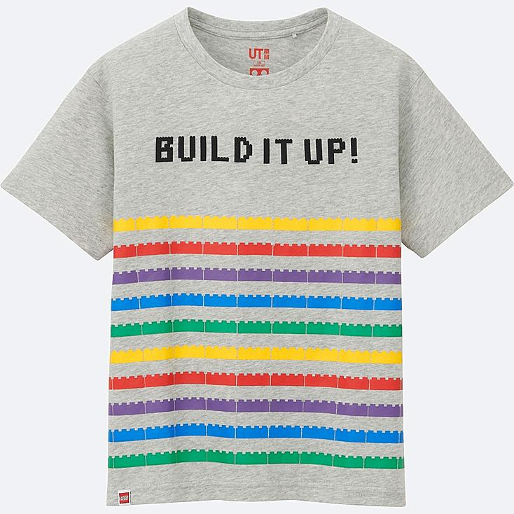 BOYS LEGO® SHORT SLEEVE GRAPHIC T-SHIRT, LIGHT GRAY, large
