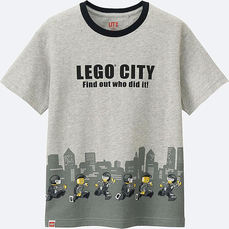 BOYS LEGO®City SHORT SLEEVE GRAPHIC T-SHIRT, LIGHT GRAY, large