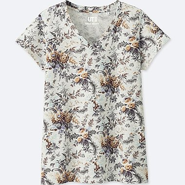 WOMEN EPICE Short Sleeve V Neck T-Shirt