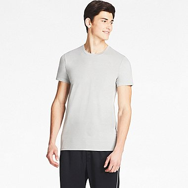 MEN HEATTECH CREW NECK SHORT SLEEVE T-SHIRT