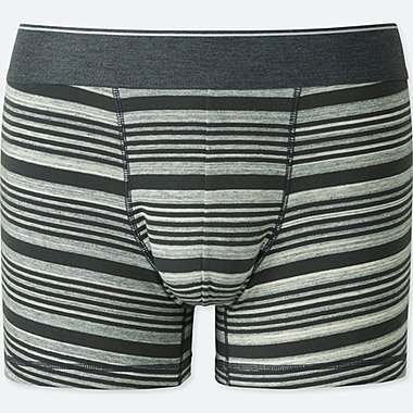 MEN SUPIMA® COTTON LOW-RISE BOXER BRIEFS, LIGHT GRAY, medium