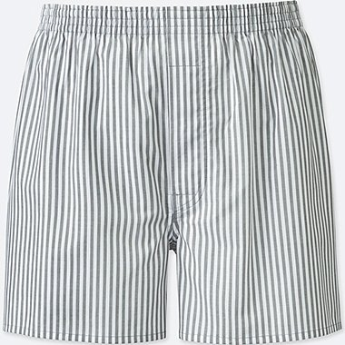 MEN WOVEN STRIPED TRUNKS