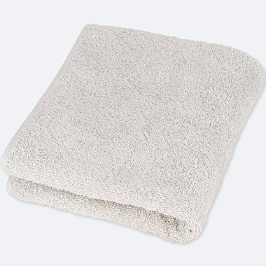 FACE TOWEL  (ONLINE EXCLUSIVE), LIGHT GRAY, medium