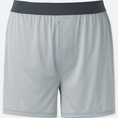 MEN AIRism BOXERS, LIGHT GRAY, medium