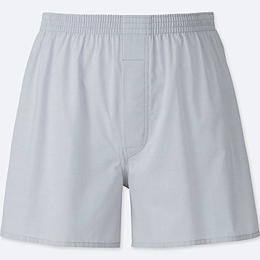 MEN WOVEN LIGHT OXFORD SHORTS