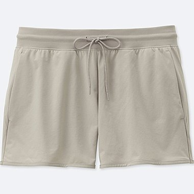 WOMEN DRY-EX ULTRA STRETCH SHORTS, LIGHT GRAY, medium