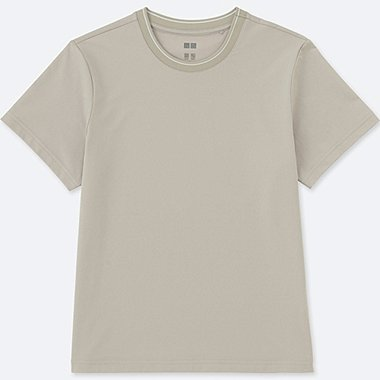 WOMEN DRY-EX ULTRA STRETCH CREW NECK T-SHIRT