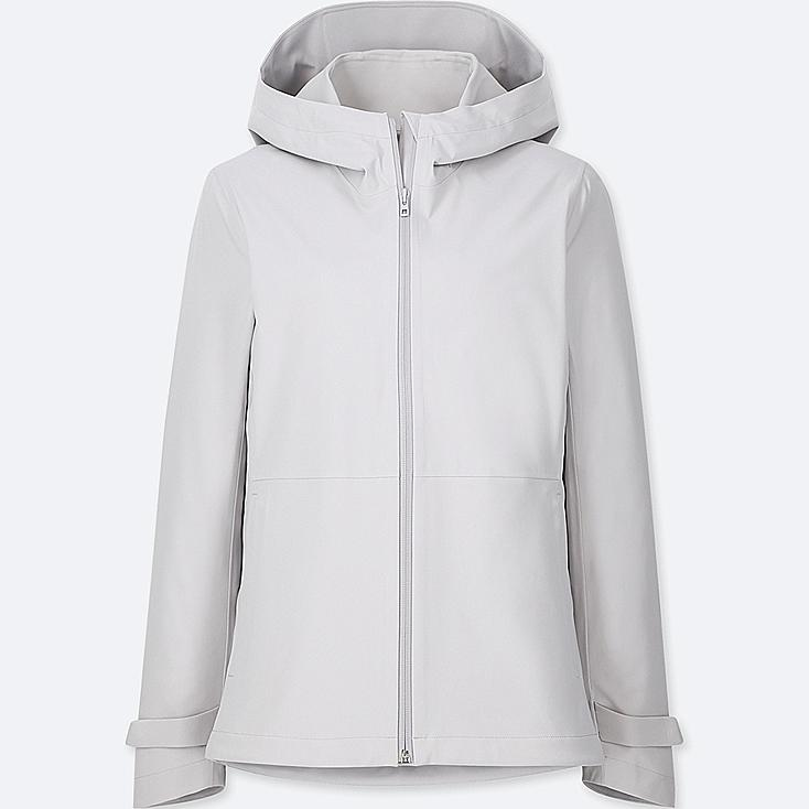 WOMEN BLOCKTECH PARKA, LIGHT GRAY, large