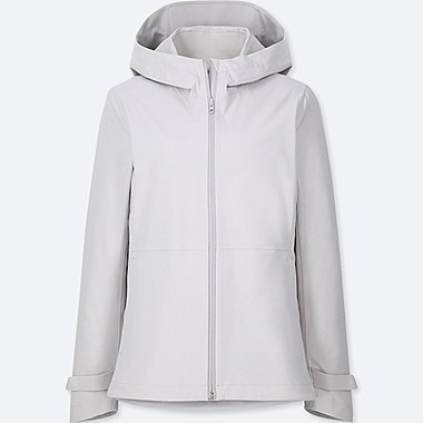 WOMEN BLOCKTECH PARKA, LIGHT GRAY, medium