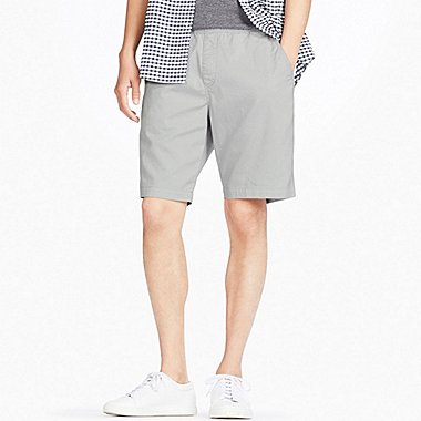 MEN DRY STRETCH EASY SHORTS, LIGHT GRAY, medium