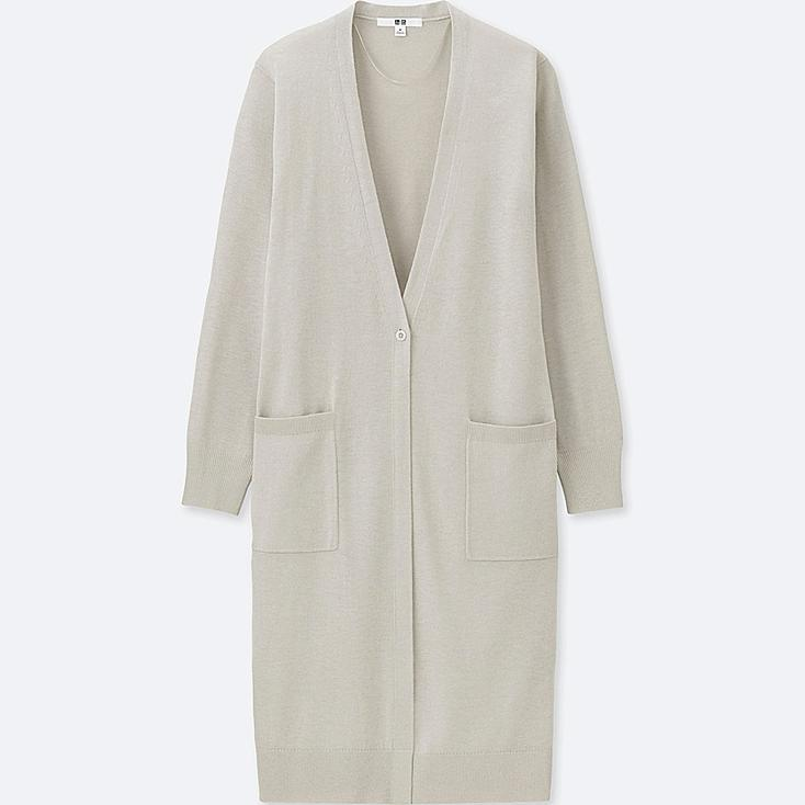 WOMEN UV CUT DOLMAN SLEEVE LONG CARDIGAN at UNIQLO in Brooklyn, NY | Tuggl