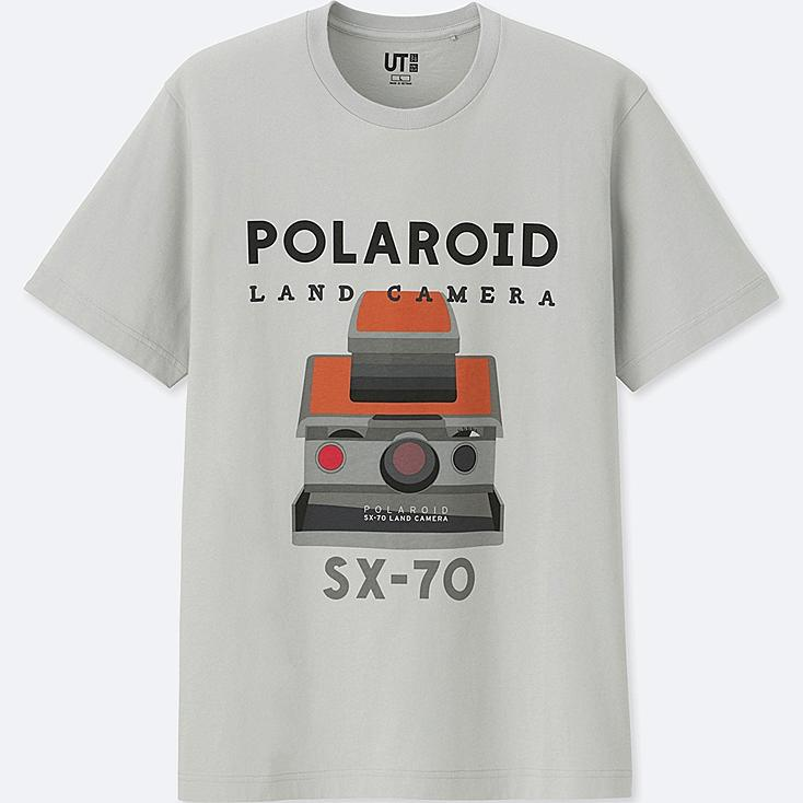 THE BRANDS SHORT-SLEEVE GRAPHIC T-SHIRT (POLAROID) | Tuggl