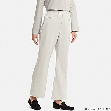 WOMEN HANA TAJIMA FLARE ANKLE LENGTH TROUSERS