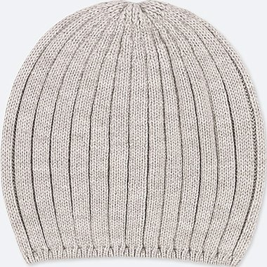 WOMEN HEATTECH KNITTED BEANIE HAT