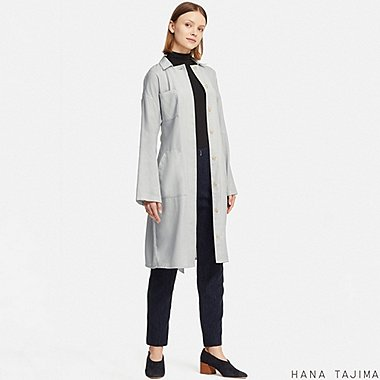 WOMEN HANA TAJIMA BELTED TWO WAY SHIRT DRESS
