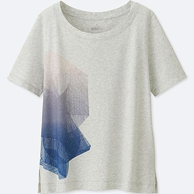WOMEN SPRZ NY SHORT-SLEEVE GRAPHIC T-SHIRT (NIKO LUOMA), LIGHT GRAY, medium